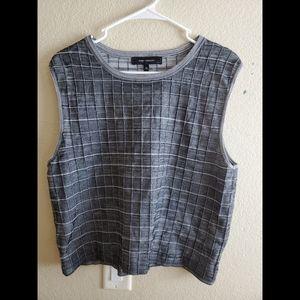 Robert Rodriguez XL Sleeveless Textured Knit Top